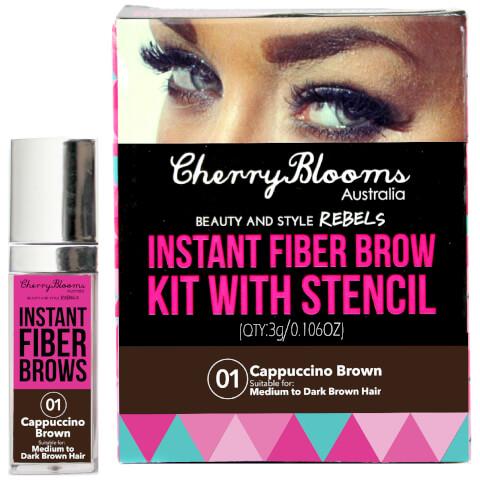Cherry Blooms Fiber Brow Kit - Cap Brown
