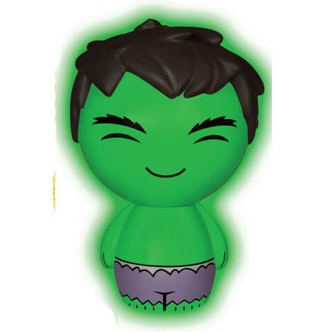 Marvel The Incredible Hulk Glow in the Dark Dorbz Figuur