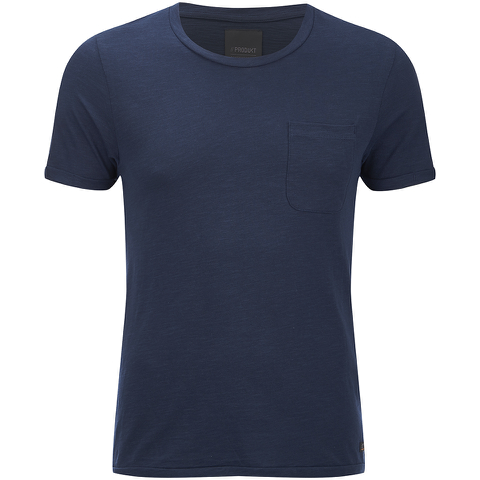 Produkt Men's Slub Crew Neck T-Shirt - Navy Blazer