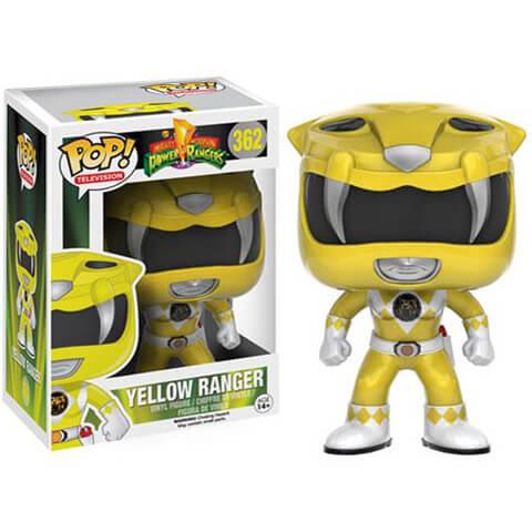 Mighty Morphin Power Rangers Yellow Ranger Funko Pop! Figuur