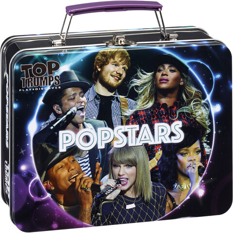 Top Trumps Collectors Tin - Popstars