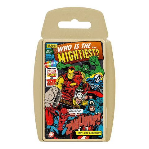 Top Trumps Specials - Marvel Comics Retro