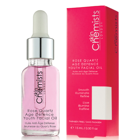 skinChemists Rose Quartz Age Defence Youth Facial Oil 15ml