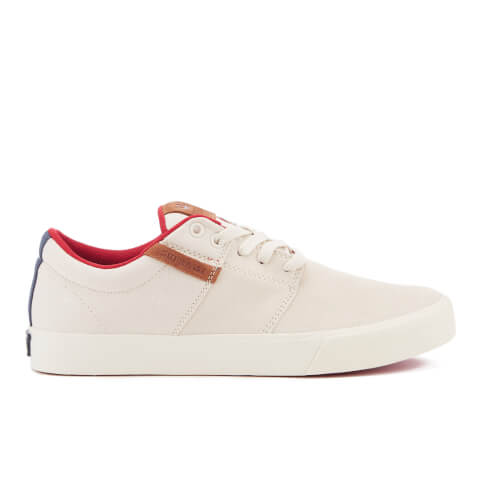 Supra Men's Stacks II Vulc Trainers - Off White