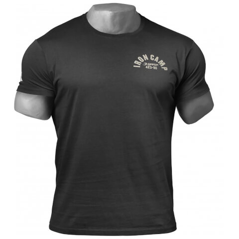 GASP Throwback T-Shirt - Wash Black
