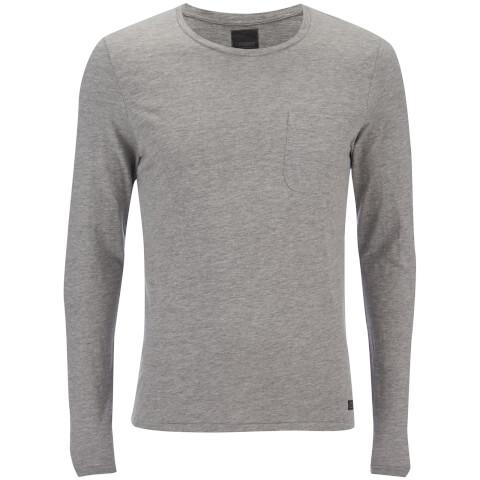 T -Shirt Produkt pour Homme Slub -Gris Clair