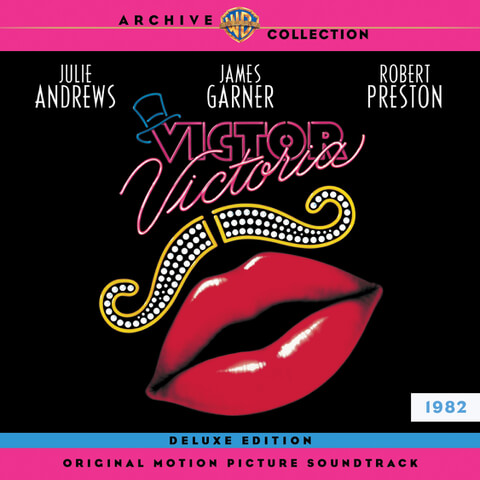 Victor Victoria - The Original Motion Picture Soundtrack: Deluxe Edition (2LP) - Limited Edition Pink and Blue Vinyl