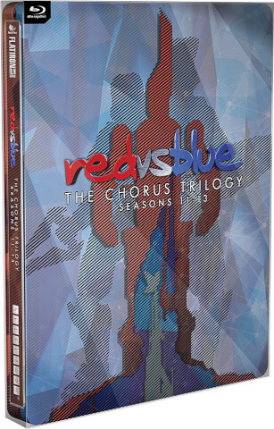 Red vs Blue: The Chorus Trilogy Steelbook