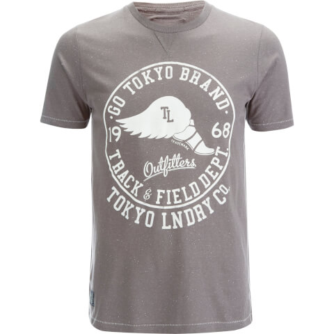 Tokyo Laundry Men's Reeves Point T-Shirt - Dark Gull Grey