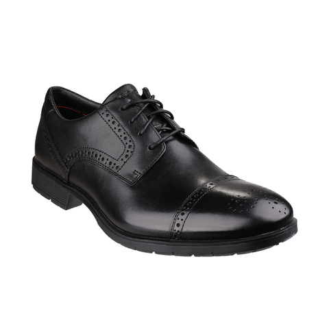 Rockport Men's Total Motion Toe Cap Brogues - Black