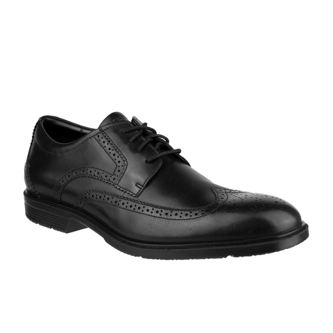 Rockport Men's City Smart Wing Tip Brogues - Black