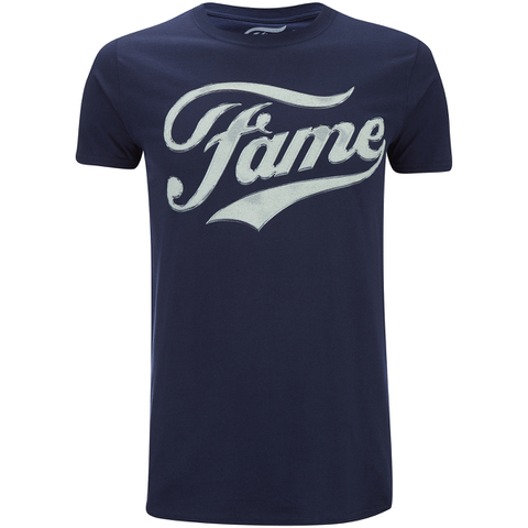 Fame Mens Logo T-Shirt - Navy
