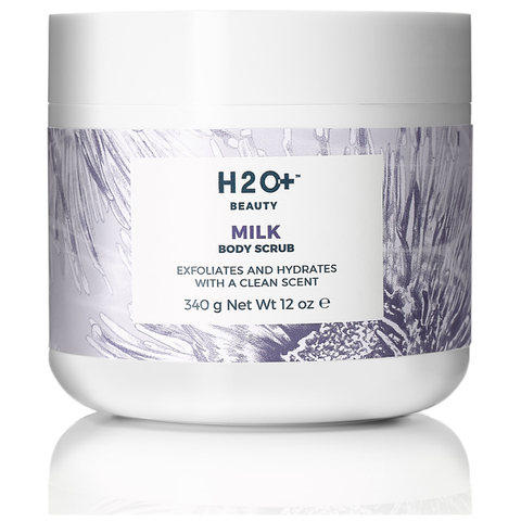 H2O+ Beauty Milk Body Scrub 12 Oz