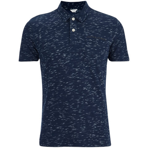 Jack & Jones Men's Core Barrett Polo Shirt - Navy Blazer