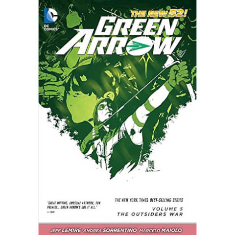 Green Arrow: Outsiders War - Volume 5 Graphic Novel