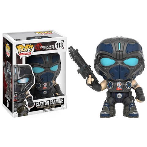 Gears of War Clayton Carmine Funko Pop! Figuur