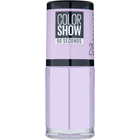 Maybelline Color Show Nail Polish - 21 Lilac Wine 7ml