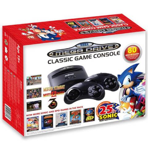 Sega Mega Drive Classic Game Console (Sonic 25th Anniversary)
