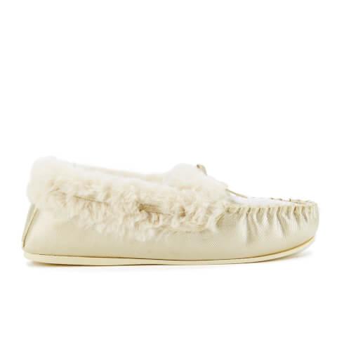 Zapatillas de casa Dunlop Amaline - Mujer - Dorado