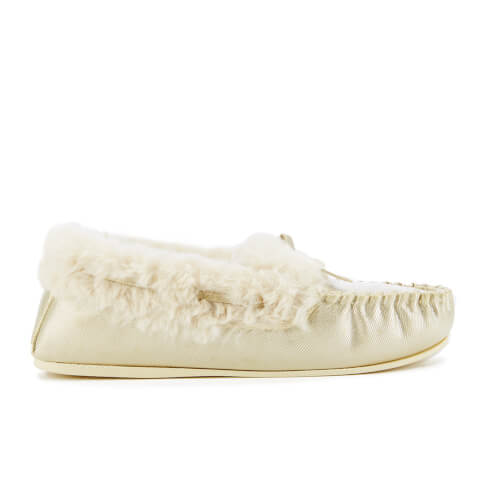 Pantoufles Dunlop Amaline -Or