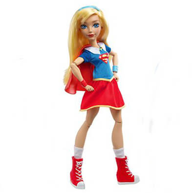 DC Super Hero Girls Supergirl 12 Inch Action Doll
