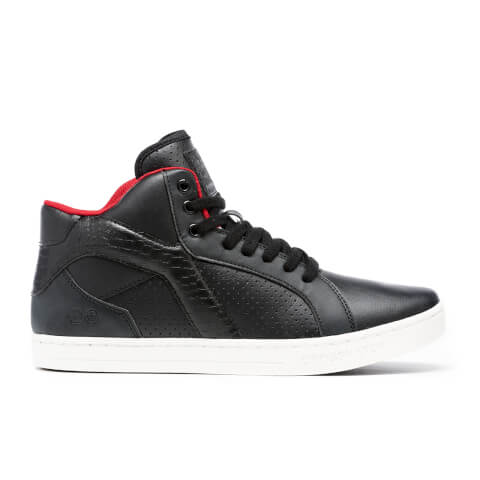 Crosshatch Men's Berkane High Top Trainers - Black
