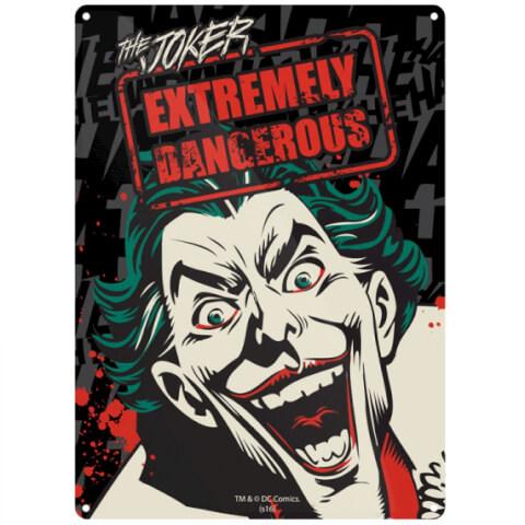 DC Comics Batman Joker Small Tin Sign 29cm x 42cm