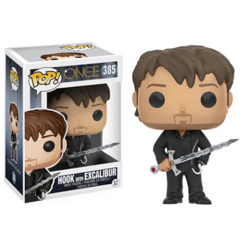 Once Upon a Time Hook with Excalibur Pop! Vinyl Figure