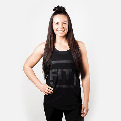 IdealFit Black Tank
