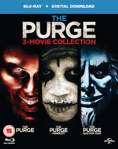 The Purge - Die Säuberung/The Purge: Anarchy/The Purge: Election Year (Includes Ultraviolet Copy)