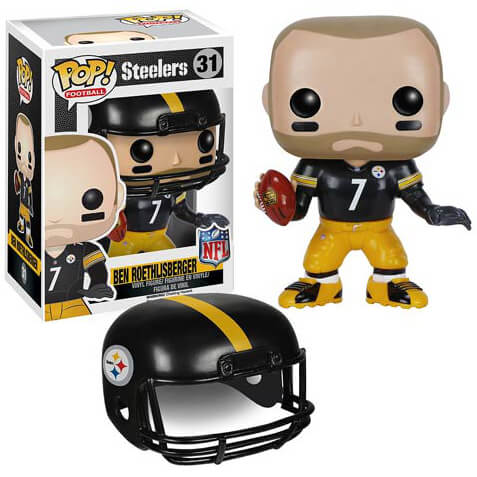 NFL Ben Roethlisberger 2ème Vague Figurine Funko Pop!