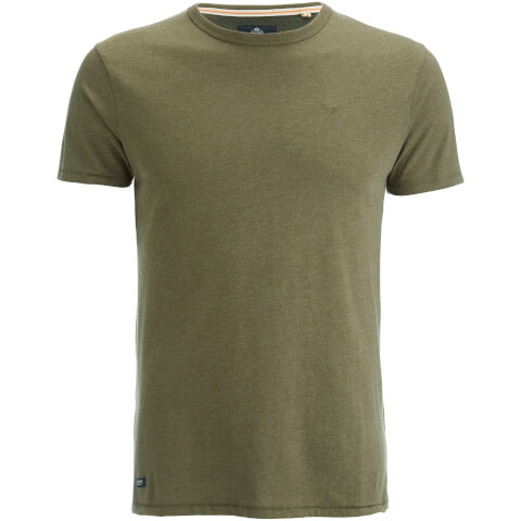 T-Shirt Homme Threadbare William - Kaki