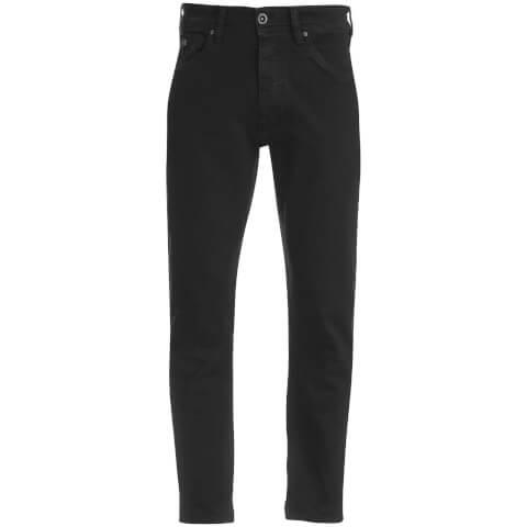Threadbare Men's Grinder Stretch Denim Jeans - Black