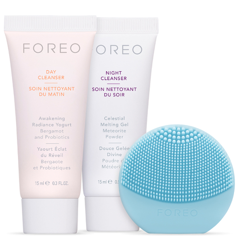 FOREO Cleansing Must-Haves - (LUNA play) Mint