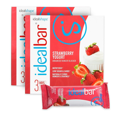IdealBar 2 Boxes Strawberry Yogurt