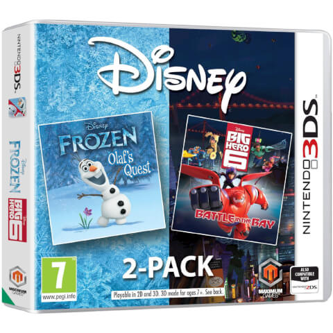 Disney Frozen/Big Hero 6 3DS Double Pack