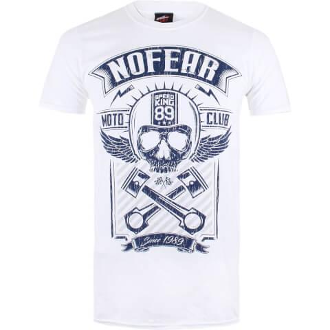 T-Shirt Homme No Fear - Blanc