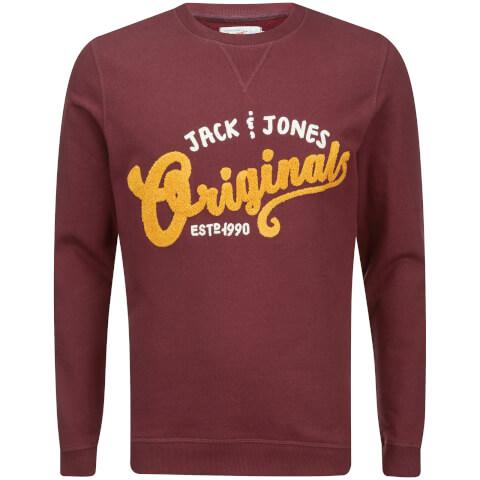 Sweatshirt Jack & Jones Homme Quarter -Brique