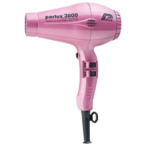 Parlux 3800 Ceramic & Ionic Hair Dryer 2100W - Pink