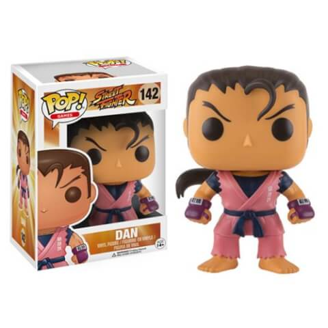 Street Fighter Dan Funko Pop! Figuur