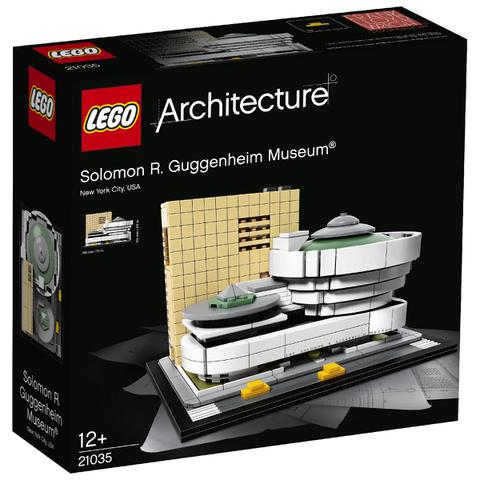 LEGO Le musée Solomon R. Guggenheim (21035)