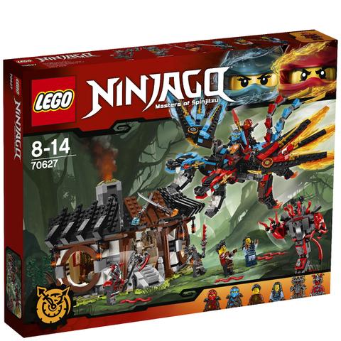 LEGO Ninjago: La forge du dragon (70627)