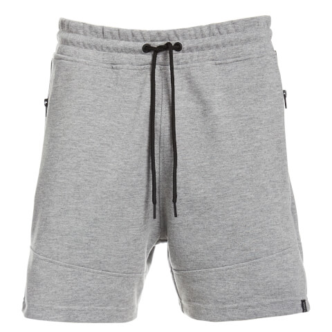 Jack & Jones Men's Core Will Sweat Shorts - Light Grey Marl