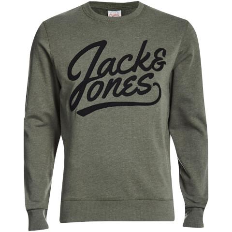 Jack & Jones Men's Originals Anything Graphic Sweatshirt - Thyme