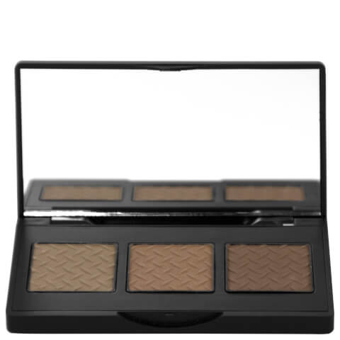The BrowGal Convertible Brow Powder & Pomade Palette 5.5g - Light Hair 03