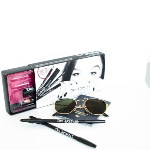 The BrowGal Travel Set for Light/Blonde Hair