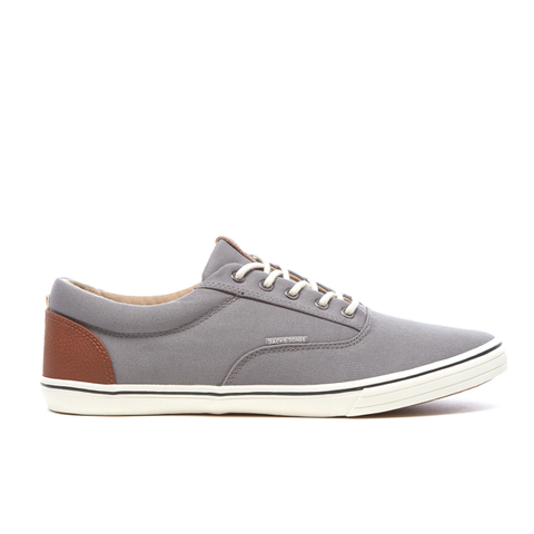 Jack & Jones Men's Vision Contrast Heel Pumps - Frost Grey