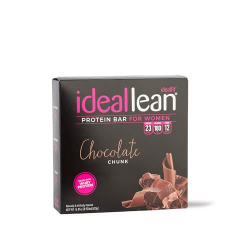 IdealLean Protein Bar Chocolate Chunk