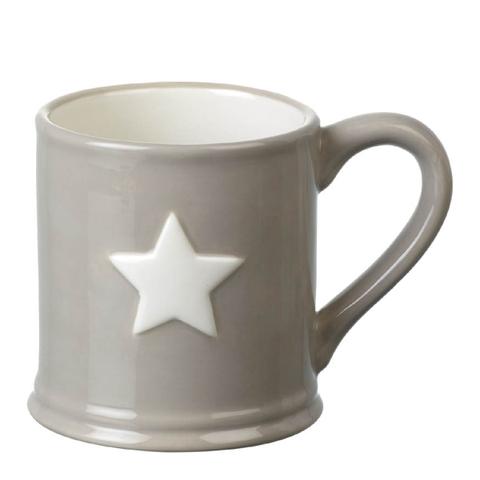 Parlane Star Ceramic Mug - Taupe