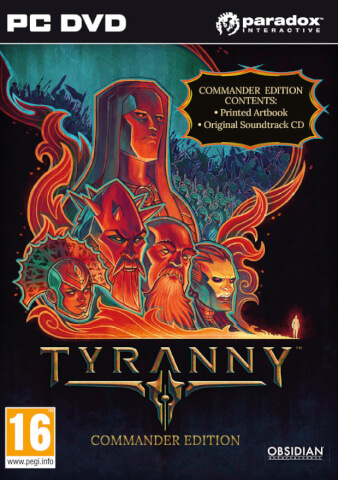 Tyranny Commander Edition